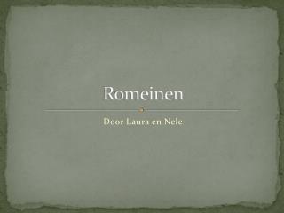 Romeinen