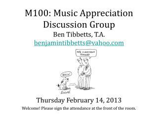 Thursday February 14, 2013
