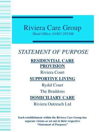 Riviera Care Group
