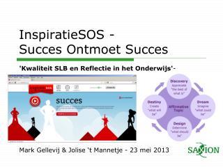 InspiratieSOS - Succes Ontmoet Succes