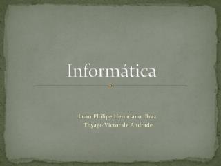 Inform�tica