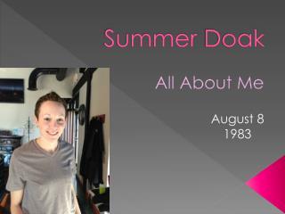 Summer  Doak