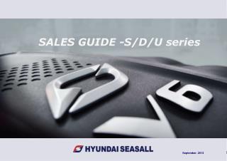 SALES GUIDE -S/D/U series