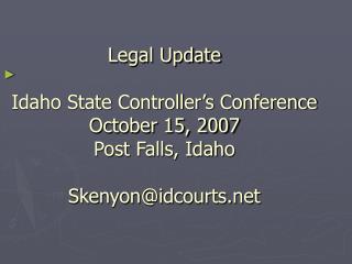 Finholt v. Cresto 143 Idaho 894