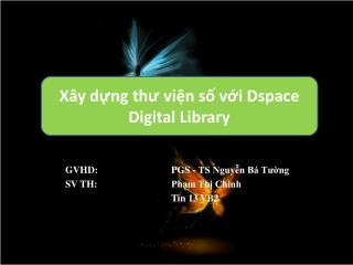 GVHD: PGS - TS Nguyễn Bá Tường SV TH: Phạm Thị Chinh Tin 13 VB2