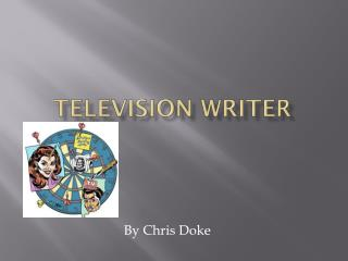 Television writer
