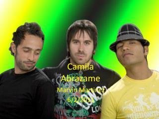 Camila  Abrazame