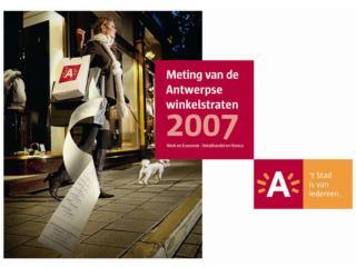Meting van de Antwerpse winkelstraten 2007 inleiding