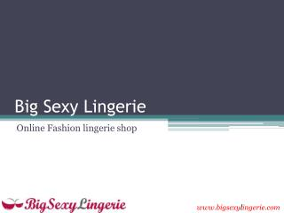 Lingerie accessories and Men's underwear shop