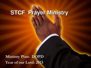 STCF  Prayer Ministry