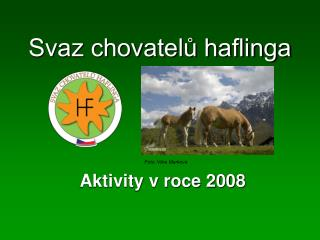 Svaz chovatelů haflinga