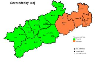 Rozloha : 7800 km ² Nejvyšší místo : Klínovec 1244 m Nejnižší místo:  Hřensko