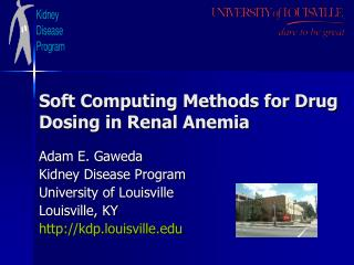 Soft Computing Methods for Drug Dosing in Renal Anemia