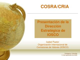 COSRA/CRIA