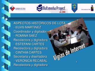 ASPECTOS HISTÓRICOS DE LOTA  - ELVIS MARTINEZ