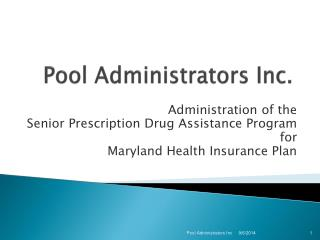 Pool Administrators Inc.