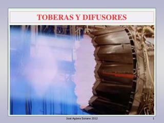 TOBERAS Y DIFUSORES