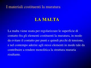 LA MALTA