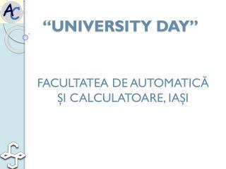 """UNIVERSITY DAY"""