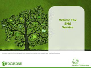 Vehicle Tax SMS Service
