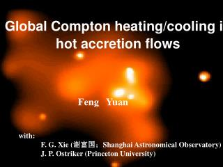 Global Compton heating/cooling in hot accretion flows