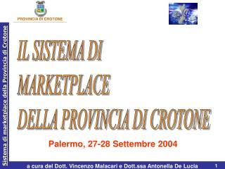 Palermo, 27-28 Settembre 2004