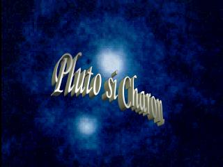 Pluto si Charon