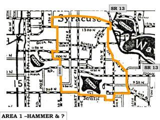 AREA 1 –HAMMER & ?