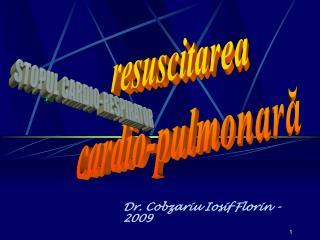Dr.  Cobzariu Iosif Florin - 200 9