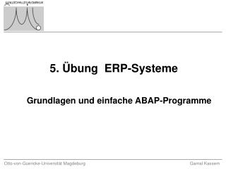 5. Übung  ERP-Systeme