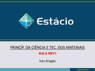 PRINC�P. DA CI�NCIA E TEC. DOS MATERIAIS