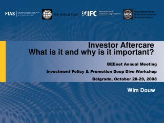Investor Aftercare  What is it and why is it important?