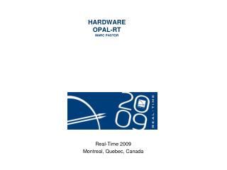 HARDWARE OPAL-RT MARC PASTOR