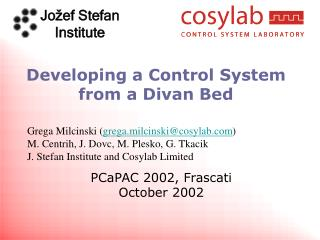 Developing a Control System from a Divan Bed