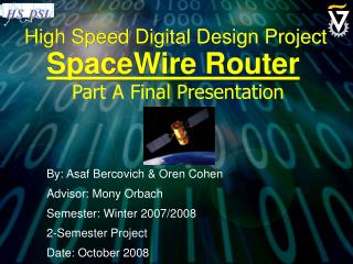 High Speed Digital Design Project
