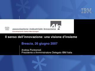 Il senso dell'innovazione: una visione d'insieme