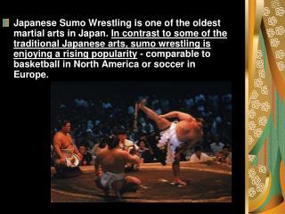 sumo wrestling presentation