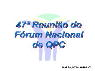 Curitiba, 30/9 e 01/10/2009