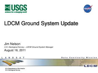 LDCM Ground System Update