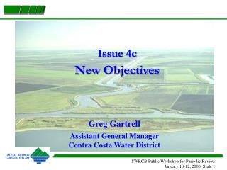 Issue 4c New Objectives
