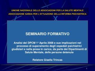 SEMINARIO FORMATIVO