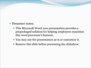 Presenter notes: