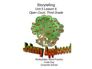 Storytelling Unit 5 Lesson 6 Open Court, Third Grade