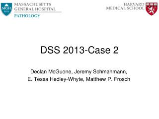 DSS 2013-Case 2