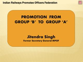 Indian Railways Promotee Officers Federation