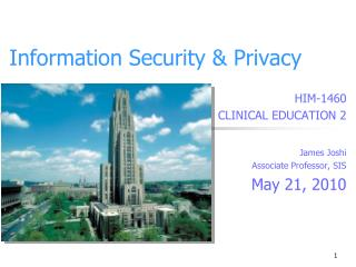 Information Security & Privacy