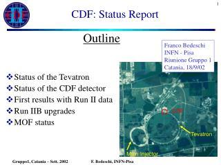 CDF: Status Report