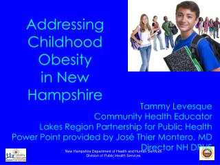 Addressing Childhood Obesity  in New Hampshire