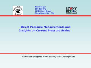 Direct Pressure Measurements and Insights on Current Pressure Scales