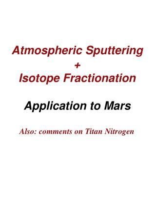 Mars Atmosphere and Ionosphere exobase altitude dashed line